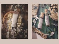 Cosmetics floral stationery 5   1