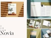 Novia Photo Magazine Mock-Up