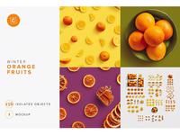 Fruits Oranges Citrus Scene Creator