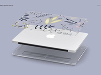Macbook Clear Case Mockup Set