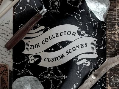 The Collector - Custom Mockup Scenes