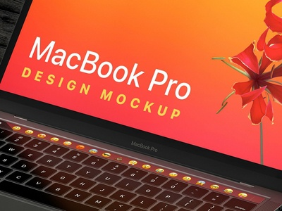 MacBook Pro/ iPhone XS Design Mockup