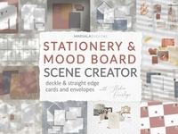 Mockup Scene Creator - Stationery