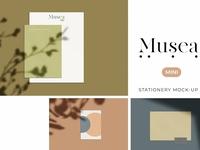 Musea Mini Stationery Mockup