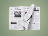 Newspaper mockup 03