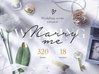 Wedding Mockup Scene Creator Bundle