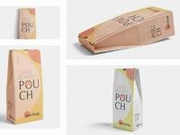 Cardboard Pouch Mockups