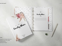 Family Book Mockup Set