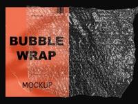 Bubble Wrap Mockup Textures
