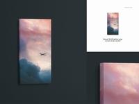 Canvas Print Mockup Set