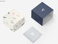 Slide Gift Box Mockup Set