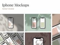 iPhone Mockups - scene creator