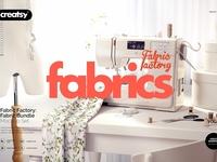 Fabric Factory Mockup Bundle