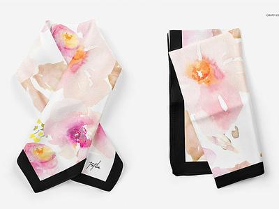 Silk Scarf Mockup Set template branding mockups mock-up mockup women neck fashion material cotton printing print silk scarf mockups silk scarf mockup scarf mockups scarf mockup set scarf mockup scarf silk scarf silk