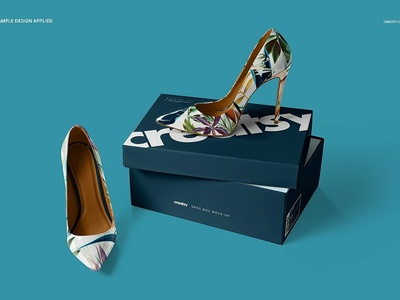 High Heels Shoes Mockup Set