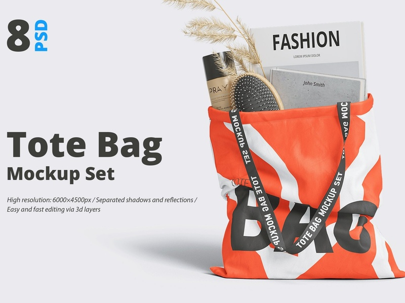 Bag Dribbble Tote On By Mockup5 Mockup OXlZukwPTi
