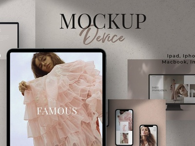 Device Mockup / Ipad/ Iphone/ Mac...