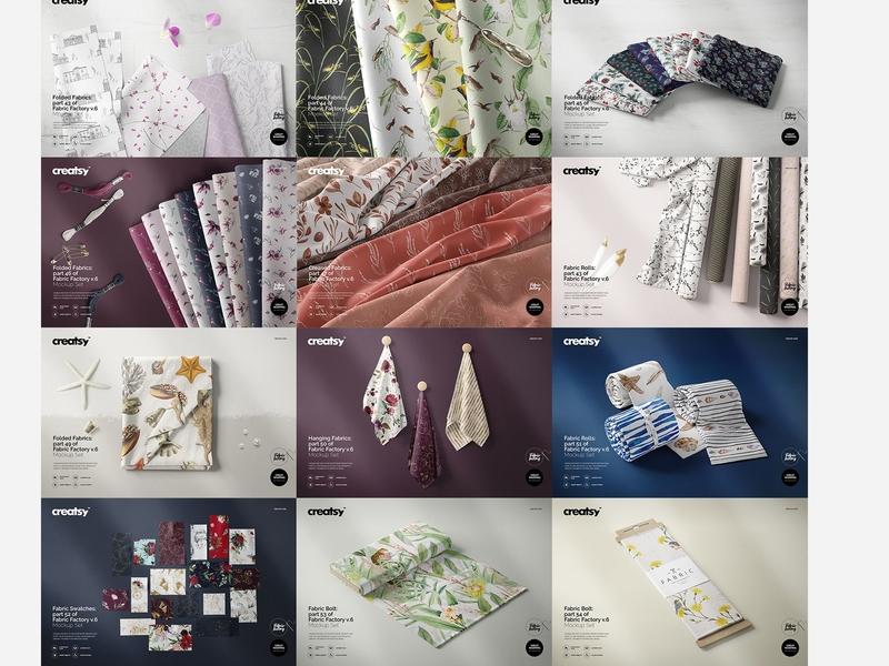 Fabric Factory v 6 Mockup Bundle by Mockup5 on Dribbble