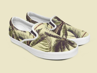 Slip-on Shoes Mockup Set