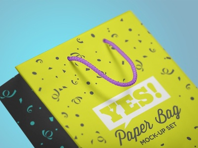 Paper Bag Mock-Up Vol.1