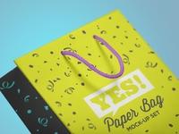Paper Bag Mock-Up Vol.1