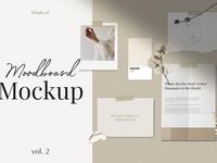 Moodboard Mockup pack