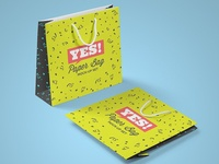 Square Paper Bag Mock-Up Vol.2