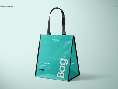 Laminated Non-Woven Bag 03 Mockups