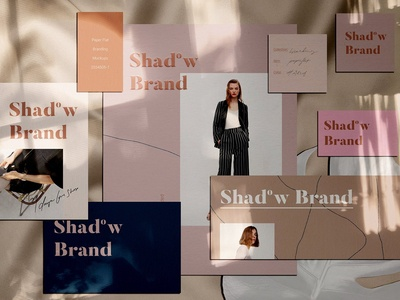 Shadow Brand - Paper Mockups