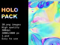 Sd vintage holo metallic holographic png mockup bolderaja1 13