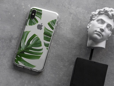 iPhone Xs Clear Case Mock-Up