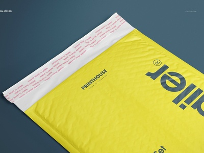 Soft Bubble Mailer Mockup Set