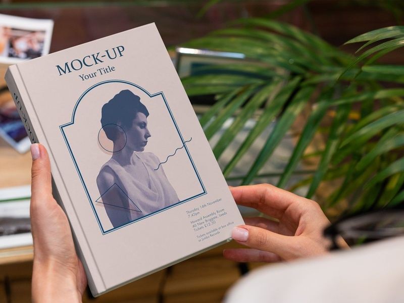 Book Hardcover Lifestyle Mock-Up book cover book harcover book hardcover lifestyle lifestyle cover cover mockup cover mock-up book mockup book mockups book cover mockup print printing print design print mockup brochure brochure design book template book design book cover design mockup