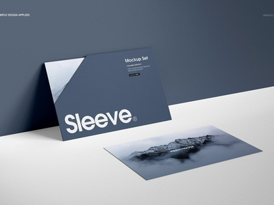 Collateral Sleeves Mockup Set (2)