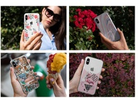 iPhone Clear Cases Lifestyle Mock-Up