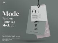 Mode-Fashion Hang Tag Mock Up