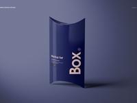 Pillow Box Mockup Set (02)