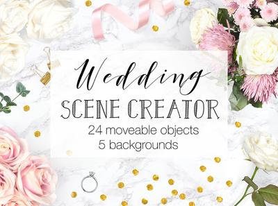 Wedding Scene Creator Top View