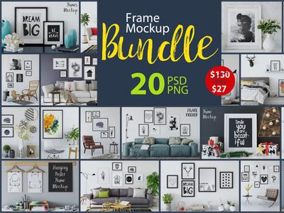 Frame Mockup - Bundle Vol. 1