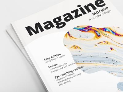 A4 Magazine Mockup Pack