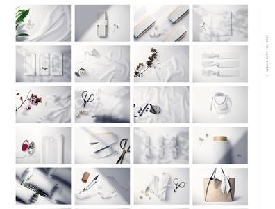Fabric Factory v.9 Mockup Bundle