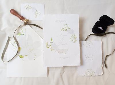 Autumn Wedding Fine Art Mock Up