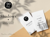Natural Shadow Mockup Set