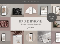iPad & iPhone Scene Creator Bundle