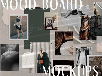 Realistic Mood Board Mockups II