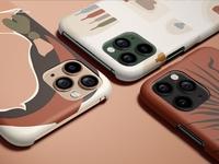 iPhone 11 Pro Matte Snap Case Mockup