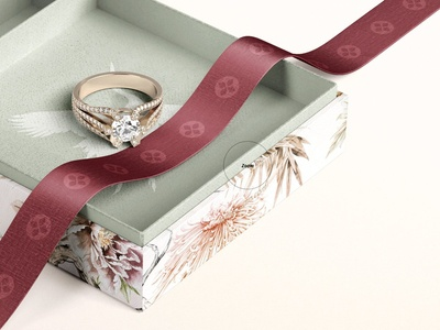 Jewelry Box Mockup Set 01