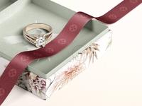 Jewelry Box Mockup Set 01