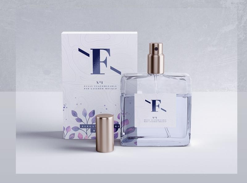 Perfume Mockup designs, themes