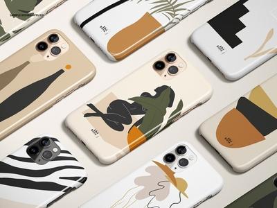 iPhone 11 Pro Glossy Case Mockup Set